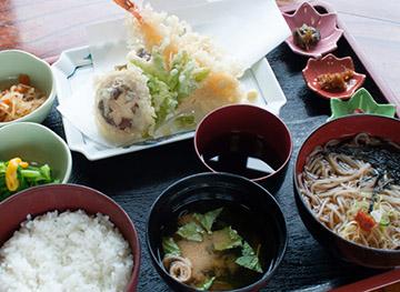 天ぷら 蕎麦セット